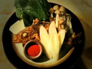 メバル の 辛鍋