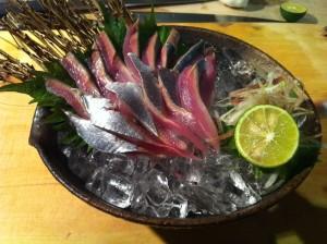 新秋刀魚 刺し