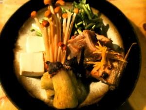 今週の鍋 鰤茄子(ブリナス)鍋