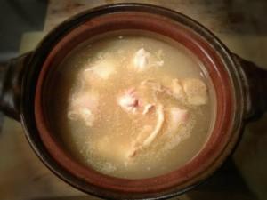 博多地鶏の水炊き